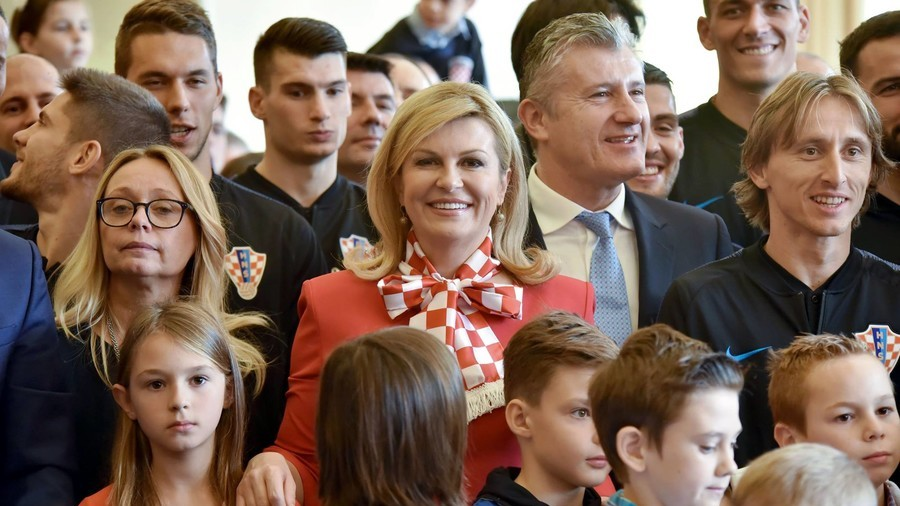 'Above All - Croatia!': President presents team order medals for World Cup heroics (PHOTOS)