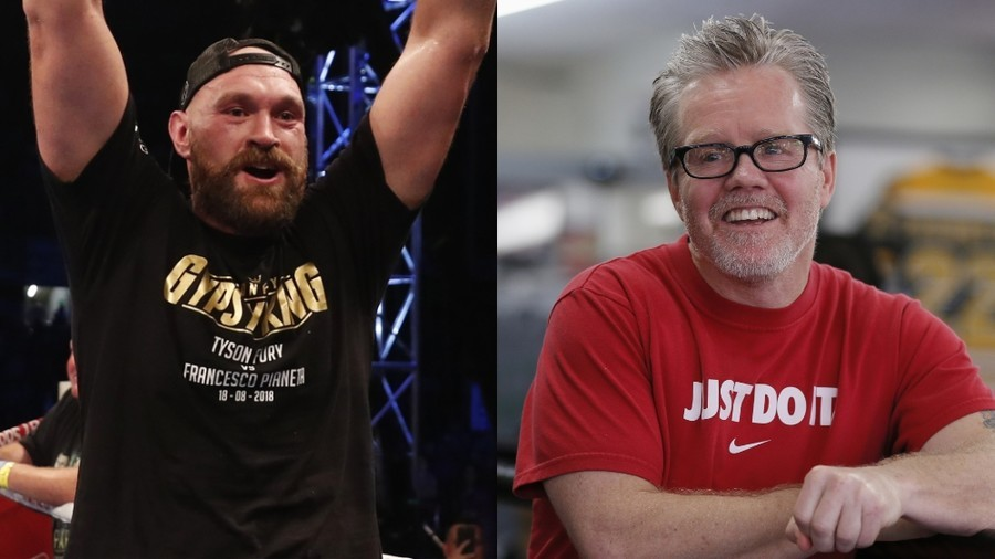 Tyson Fury drafts in Freddie Roach ahead of Deontay Wilder clash
