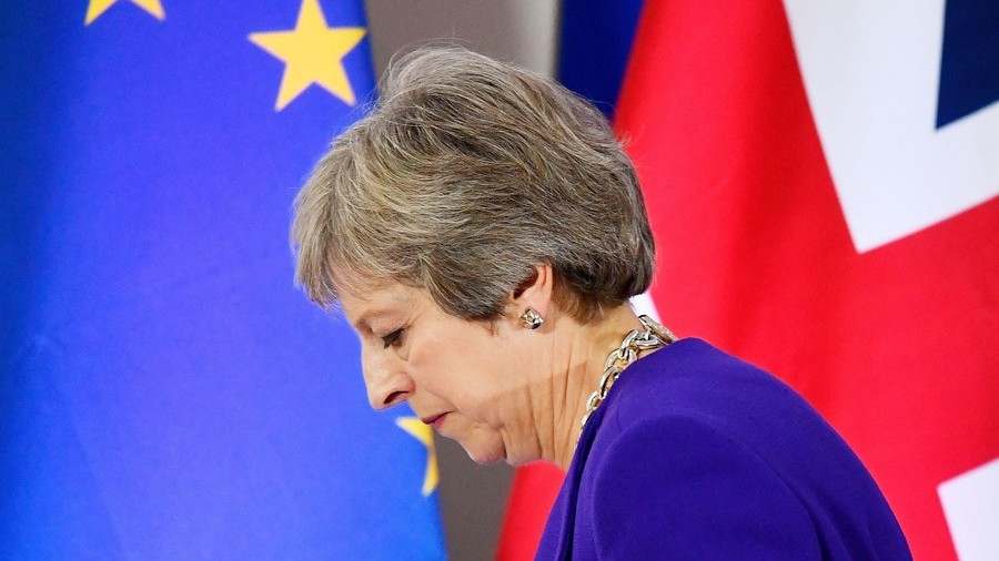 UK PM May fights for survival after Brexit deal sparks crisis