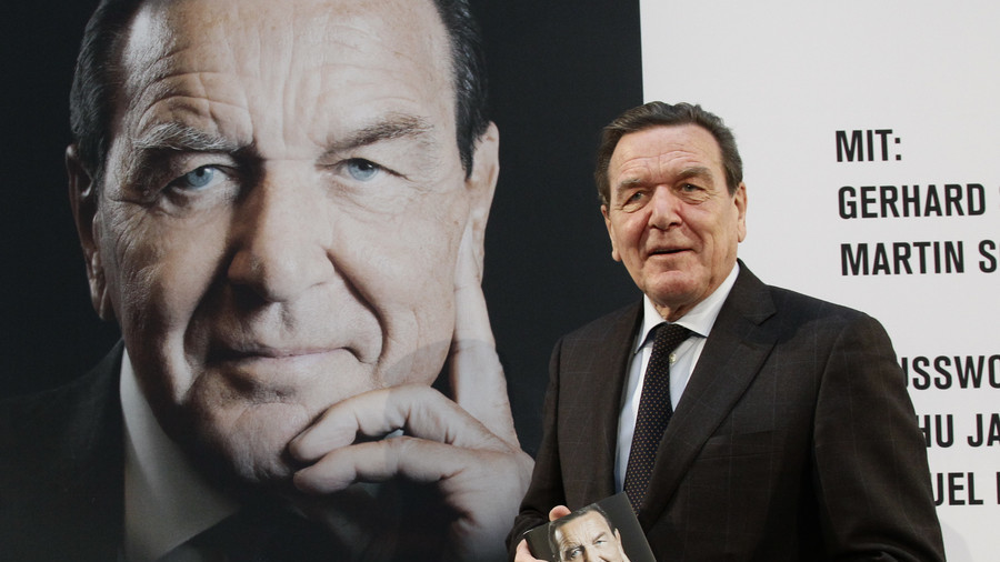 Berlin demands that Kiev act after Ukrainian nationalists put ex-chancellor Schroeder on 'hit list'