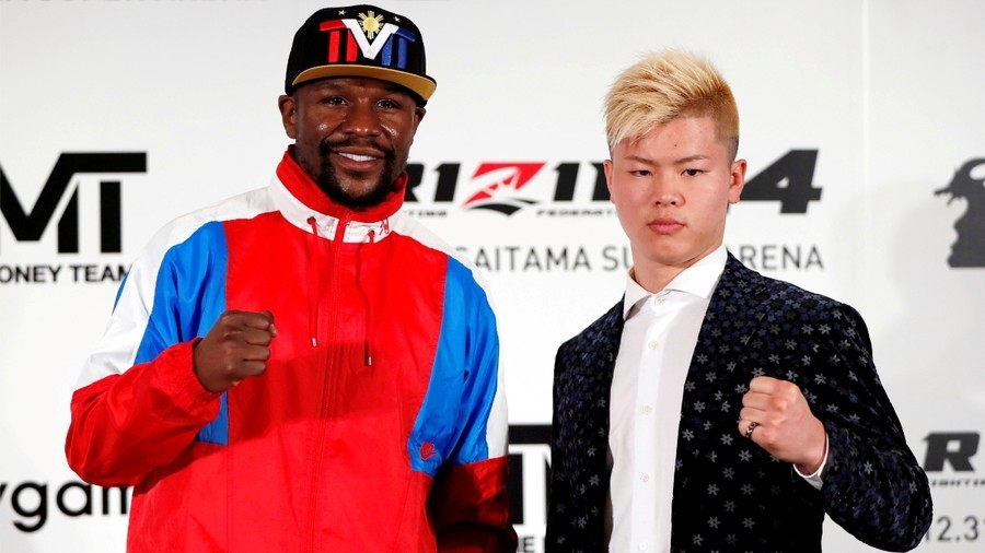 Floyd Mayweather says fight with Tenshin Nasukawa back on