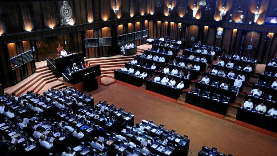 Political punches: Brawl breaks out during Sri Lankan parliamentary session