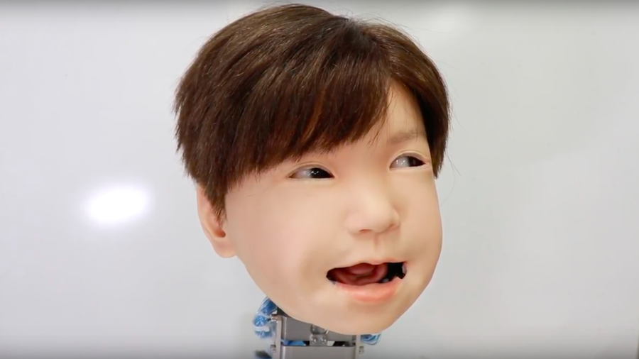 Japan has made child robot faces more realistic and it's weird AF (VIDEOS)