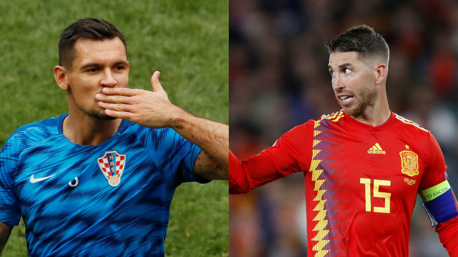 'Bunch of p******': Croatian defender Lovren taunts Ramos & Spain after revenge win