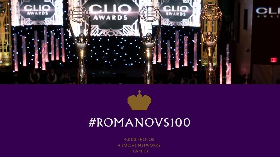 #Romanovs100 wins silver at Clio Entertainment in LA