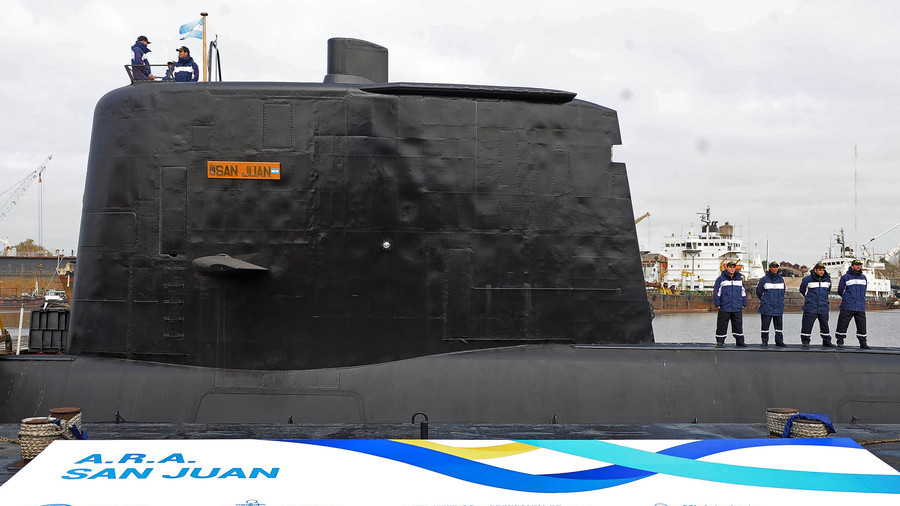 Discovered Argentine sub imploded below surface: defense ministry