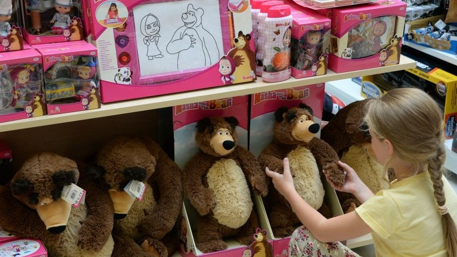 'All out of anti-Russian stories?' Times gets grilled for calling 'Masha and the Bear' propaganda