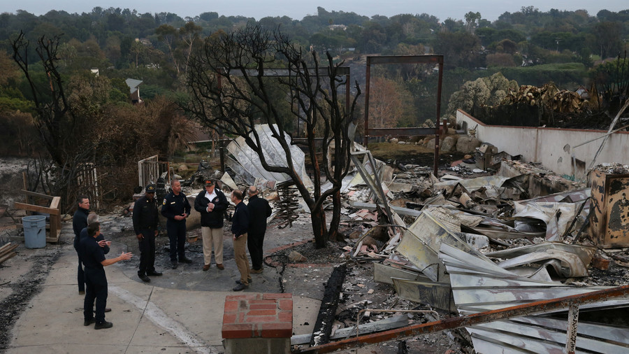 'Total devastation': Trump visits California as wildfire death toll jumps to 76, with 1,276 missing