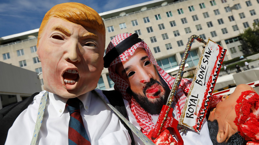 Premature but possible? Trump awaits 'full report' on Khashoggi murder after CIA implicates MBS