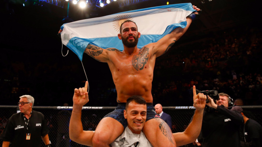 Hometown fighter scores stunning knockout in UFC Argentina headliner (VIDEO)