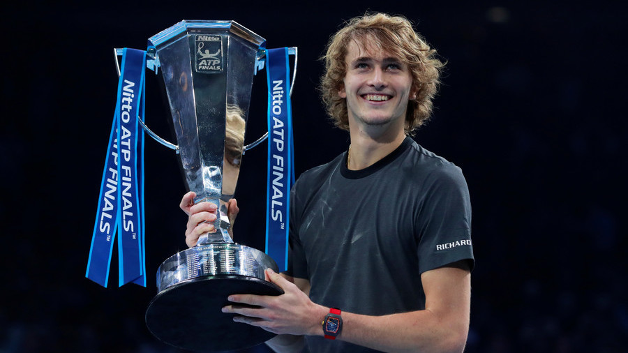 A star is born: Zverev beats Djokovic in straight sets to clinch ATP Finals (PHOTOS)