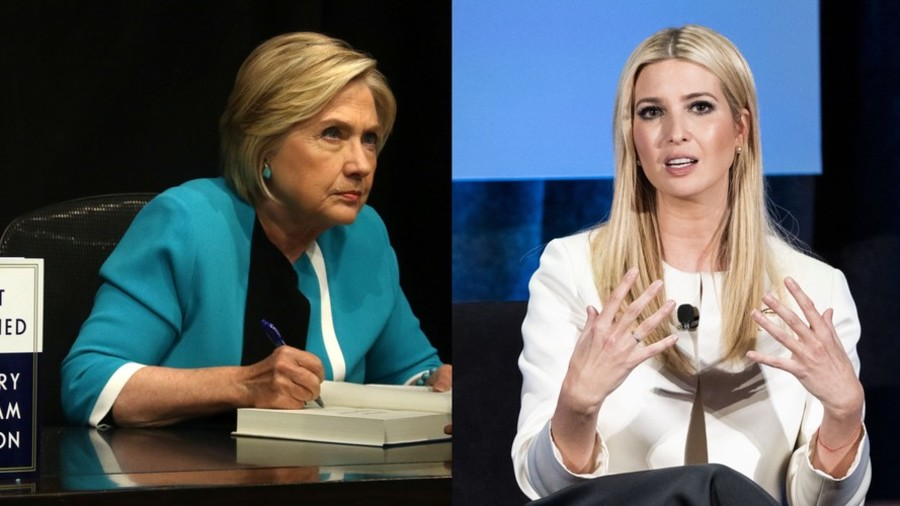 Liberals cry hypocrisy after reports of Ivanka's private email use but it's not the same as Hillary