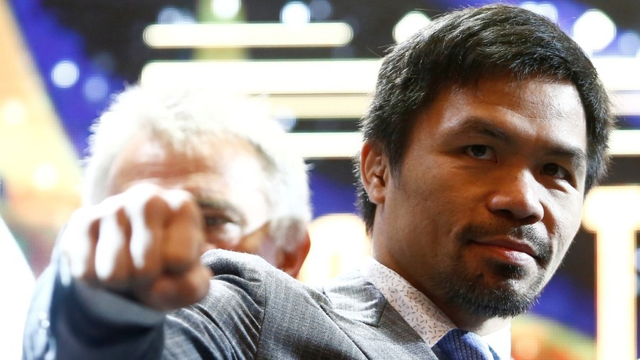 Is declared date and place of the next fight of Pacquiao
