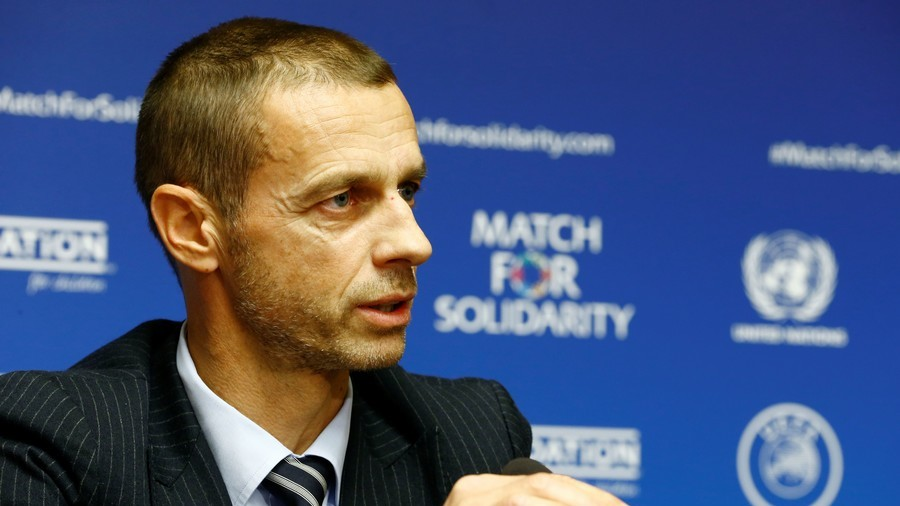 'It's fiction, it won't happen' – UEFA boss shuts down European Super League talk