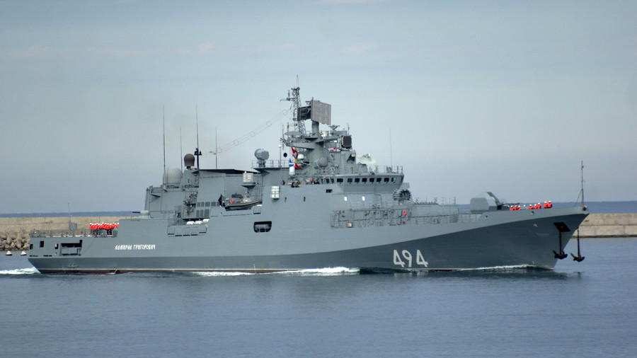 Final step: Russia & India sign deal on 4 frigates construction and navy transfer