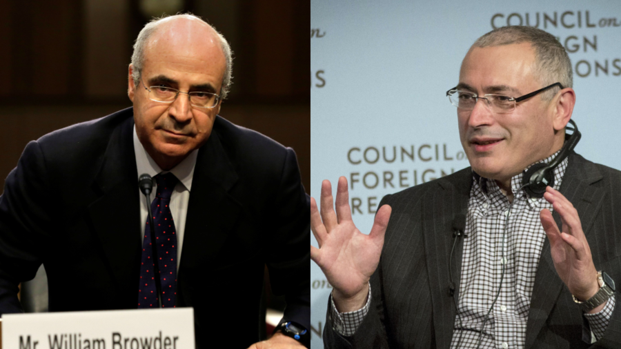 Freedom from the press? Ruptly video agency denied access to Browder's and Khodorkovsky's conference