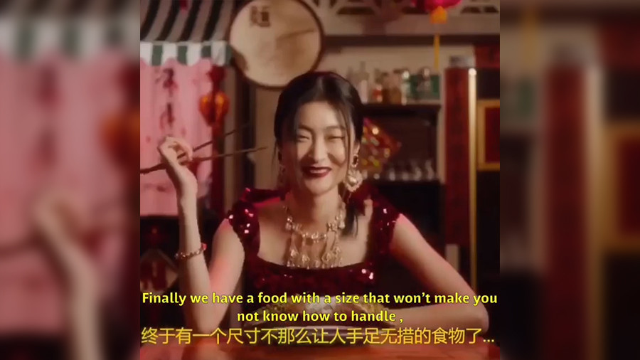 Pizza and chopsticks: D&G catwalk show in China cancelled after 'racist ad' outcry