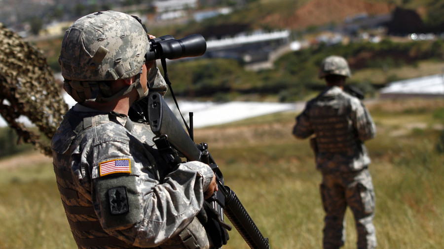 White House authorizes border troops to use lethal force – report
