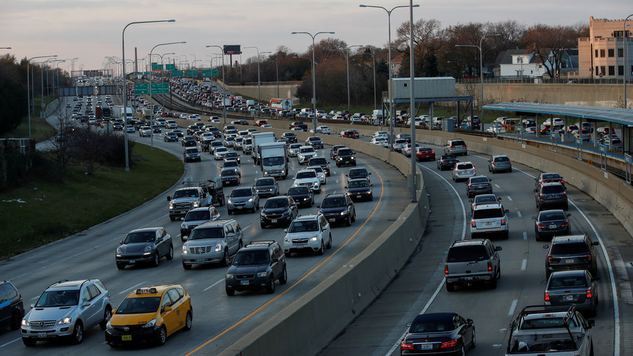Trump takes credit for Thanksgiving traffic jams because his Saudi friendship makes gas so cheap