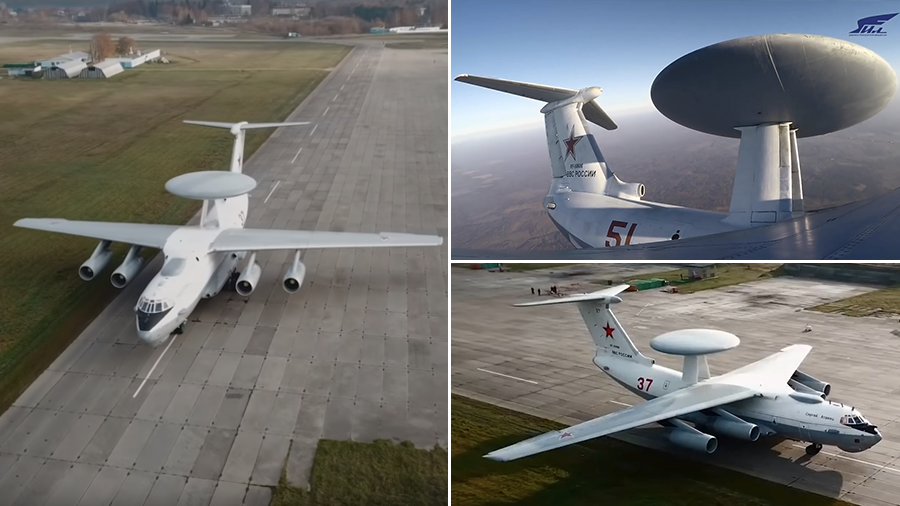 Spy plane up close: WATCH Russian surveillance jets perform flawless maneuvers in new video
