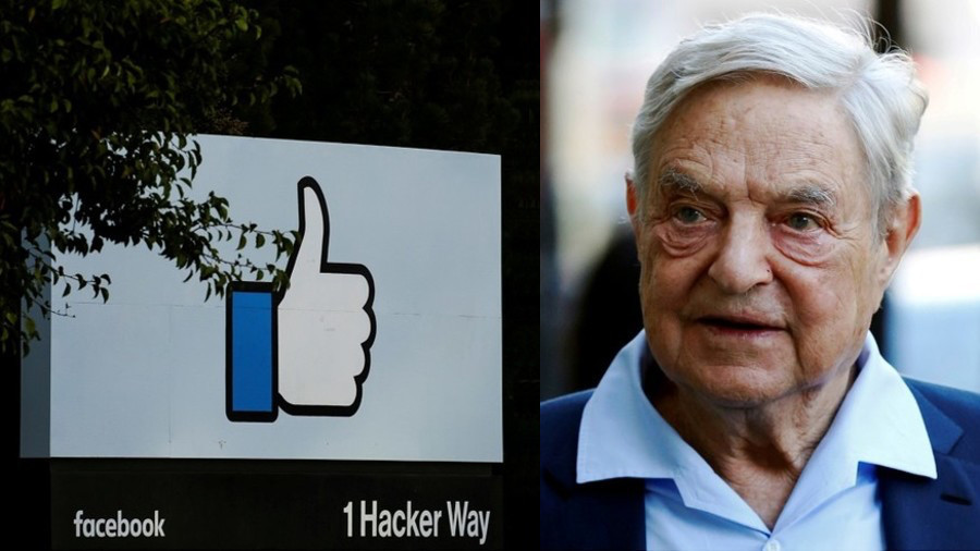 Soros sold off Facebook stocks before they tanked, documents show