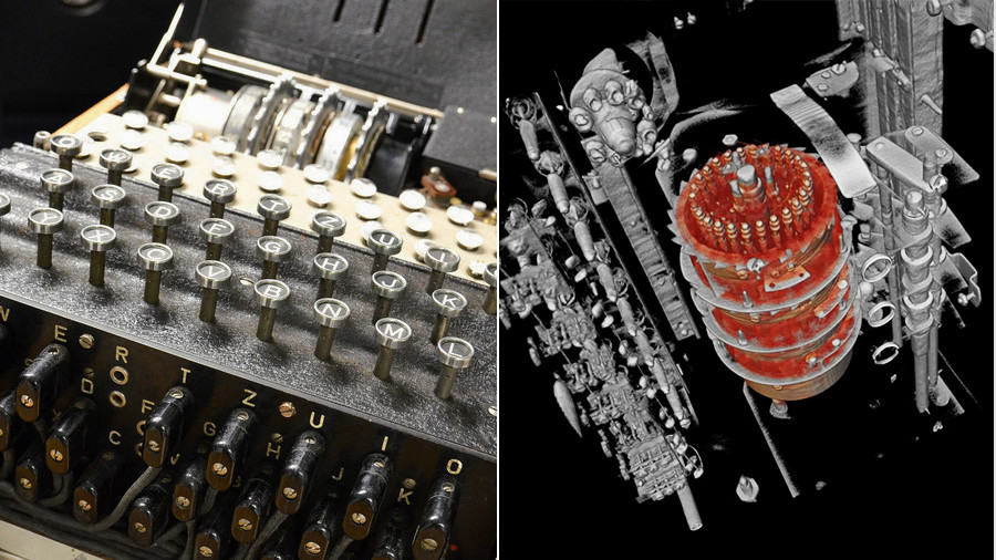 WW2 code-breaking Enigma machine deconstructed to reveal its secrets (VIDEO)