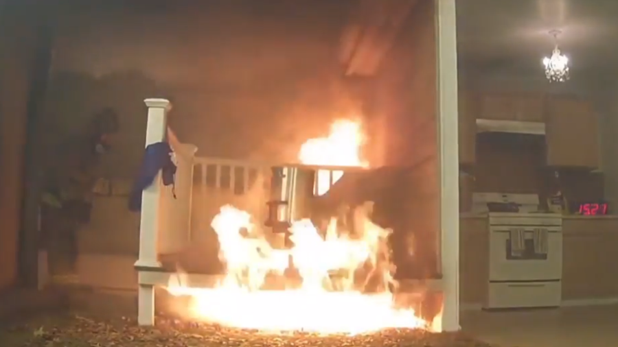 'Cook turkey, not your home': Explosive fryer footage offers sage Thanksgiving advice (VIDEO)