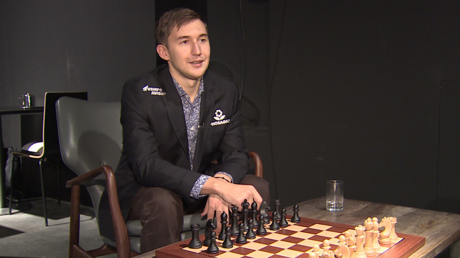 'We don't need to strip off to gain attention for chess' – Russian grand master Karjakin