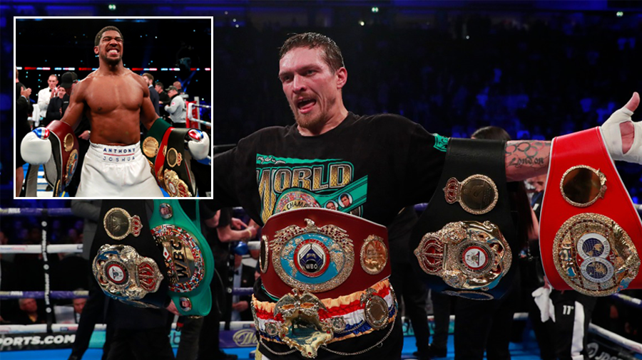 'A monster fight': Anthony Joshua could face Oleksandr Usyk in 2019, manager says