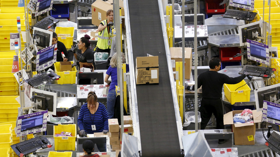 'Electric shocks & broken bones': Amazon workers to protest 'inhuman' conditions on Black Friday