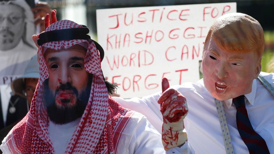 Trump eager to 'turn a blind eye' to Khashoggi murder – Turkish FM