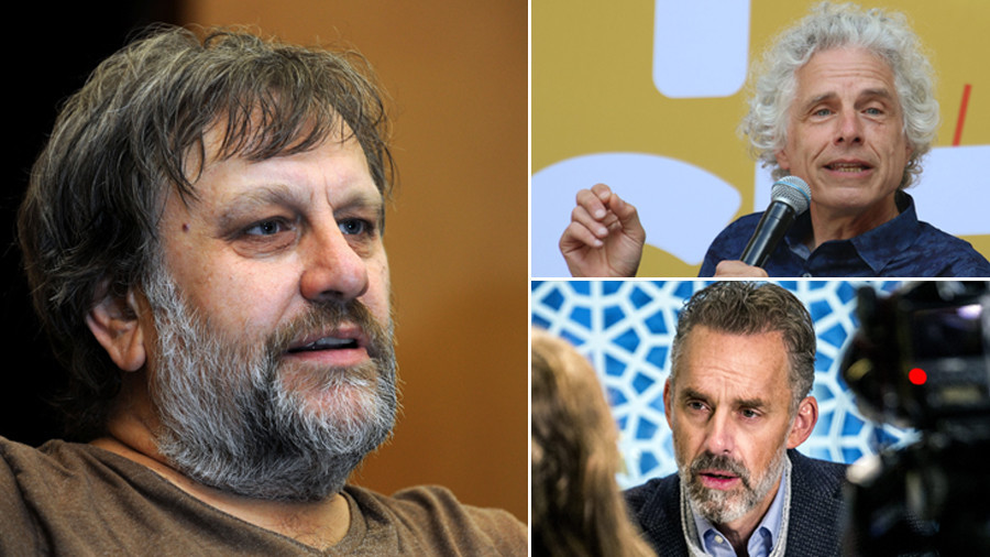Philosopher fight: Slavoj Zizek attacks Jordan Peterson and Steven Pinker at Cambridge Union