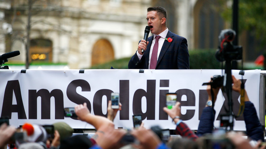 Tommy Robinson appointed as Ukip's 'grooming gangs adviser'