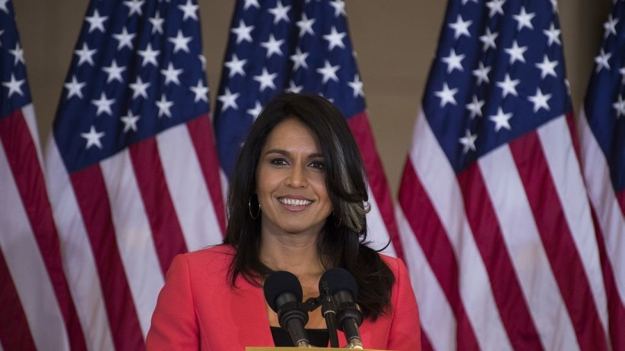 Straight-talking Tulsi's rising star means setting sun for Dem Party establishment