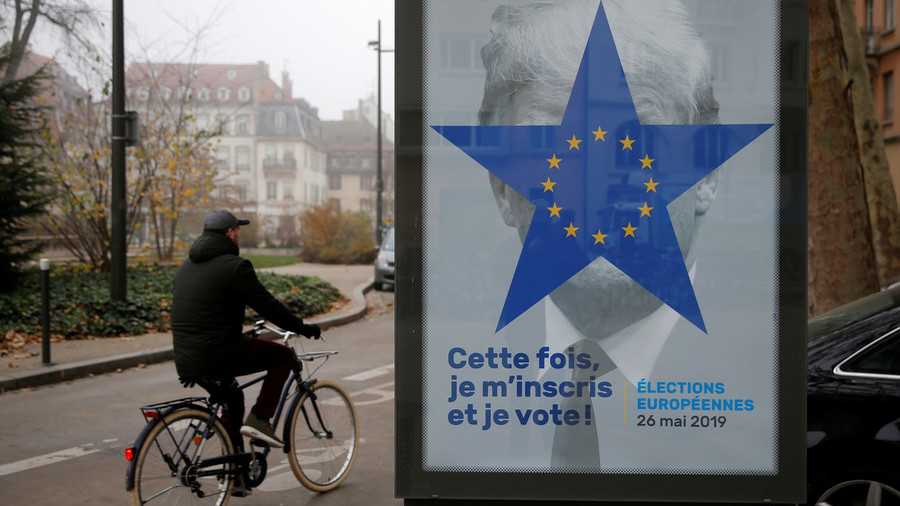EU propaganda? Donald Trump pops up on French campaign ads ahead of Brussels vote