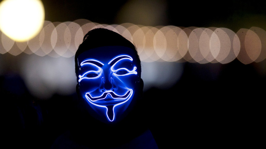 Anonymous blows lid off huge psyop in Europe and it's funded by UK & US
