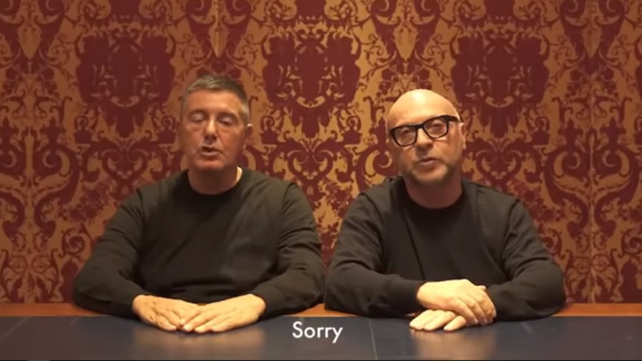 Dolce & Gabbana plead for forgiveness after racism accusations in China