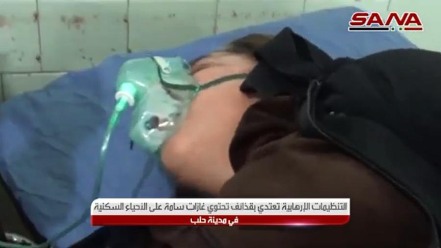 More than 100 injured in Aleppo in terrorist gas attack