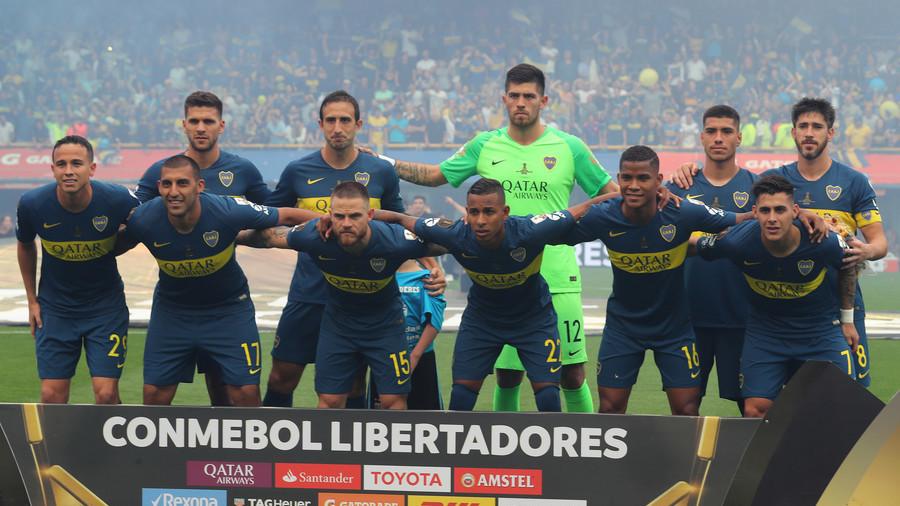 sports shoes 1b6a2 f5132 Boca Juniors 'request suspension' of Copa Libertadores final ...
