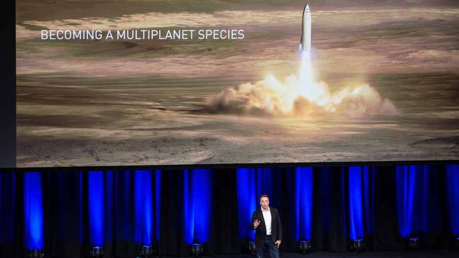 Percent Chance Elon Musk Is Moving to Mars""