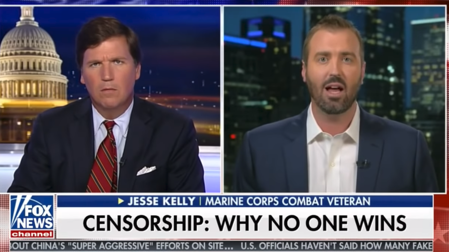 Iraq War vet who called out social media censorship booted from Twitter