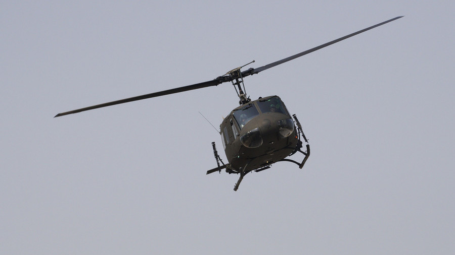 Turkish military helicopter crashes in Istanbul residential area