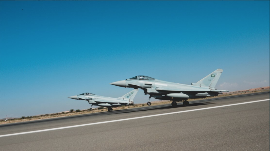 British Royal Air Force kicks off 'combat readiness' drills with Saudi Arabia (PHOTOS, VIDEO)