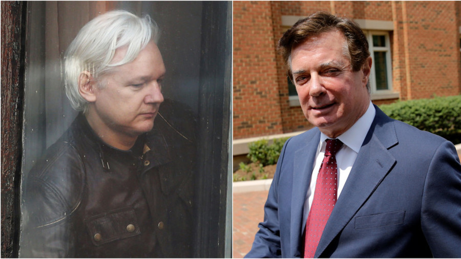 Wikileaks betting '$1mn & editor's head' against Guardian claims that Manafort met Assange