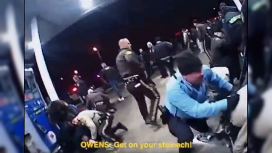 'I kicked him like there was no f**king tomorrow': Cops joke about brutality in bodycam VIDEO