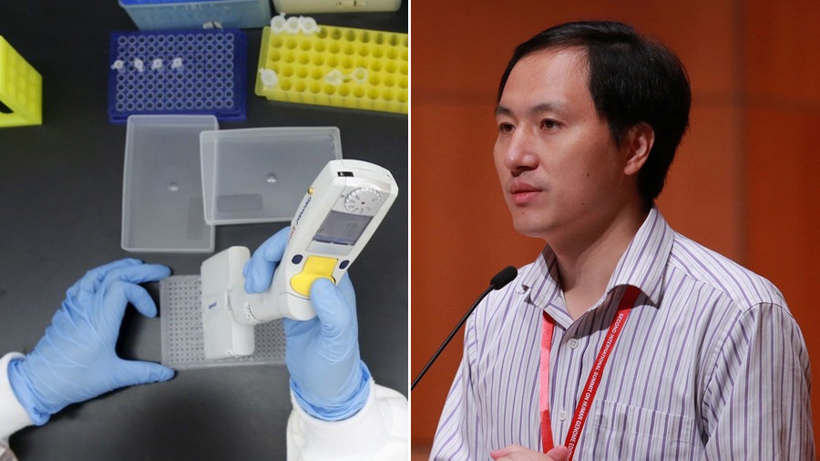 Chinese scientist created human babies using gene editing resistant to HIV