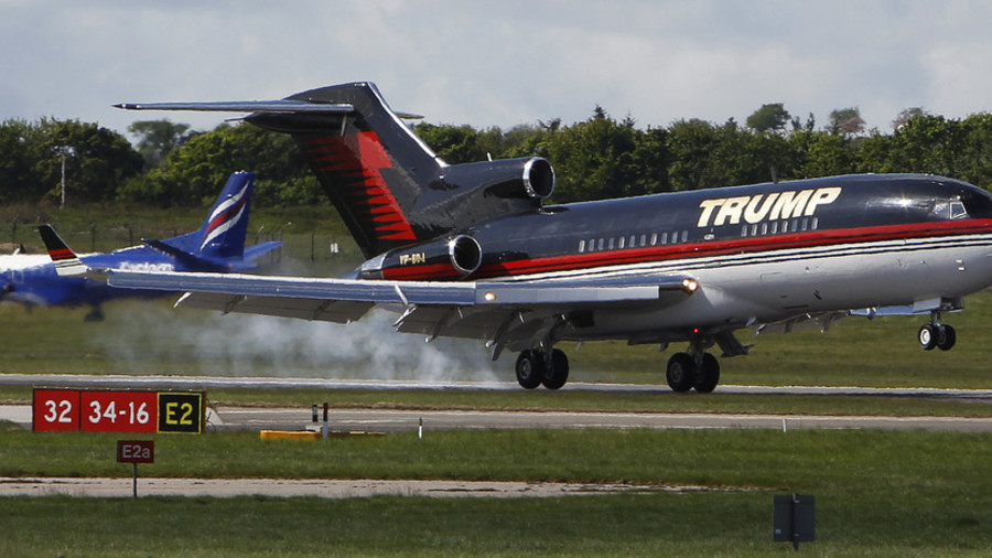 Trump Force One private jet damaged in airport fender bender