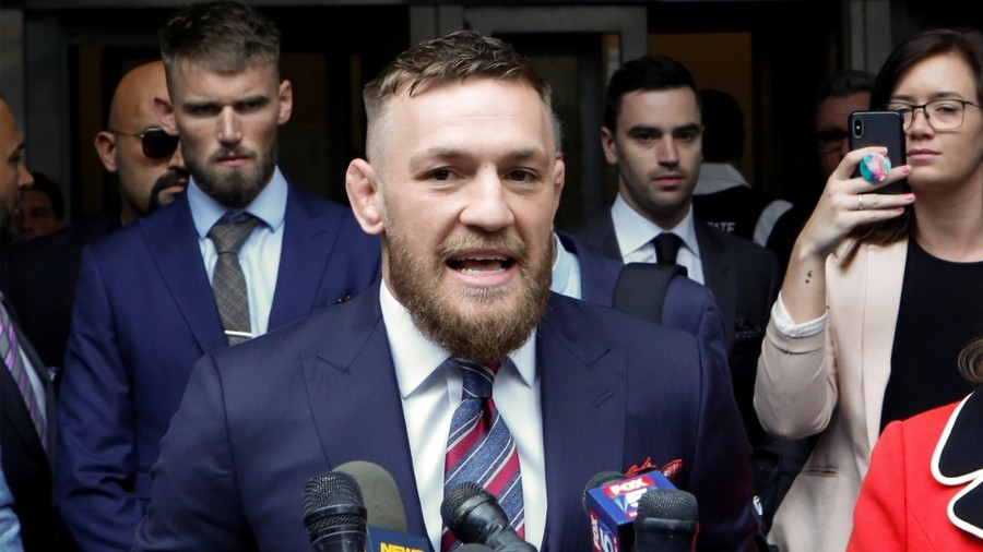 McGregor settles out of court with security guard who wanted $95K after being 'hit by drinks cans'