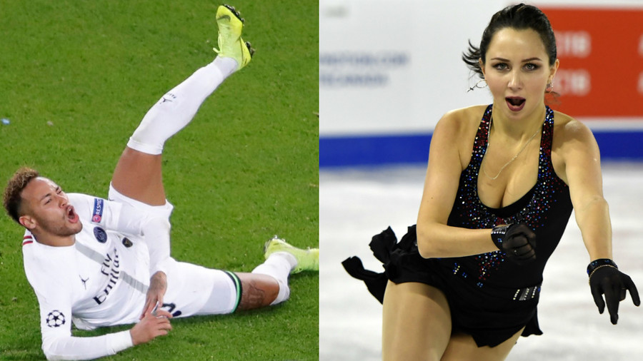 'I fall over less often on the ice': Russian figure skating star Tuktamysheva trolls Neymar