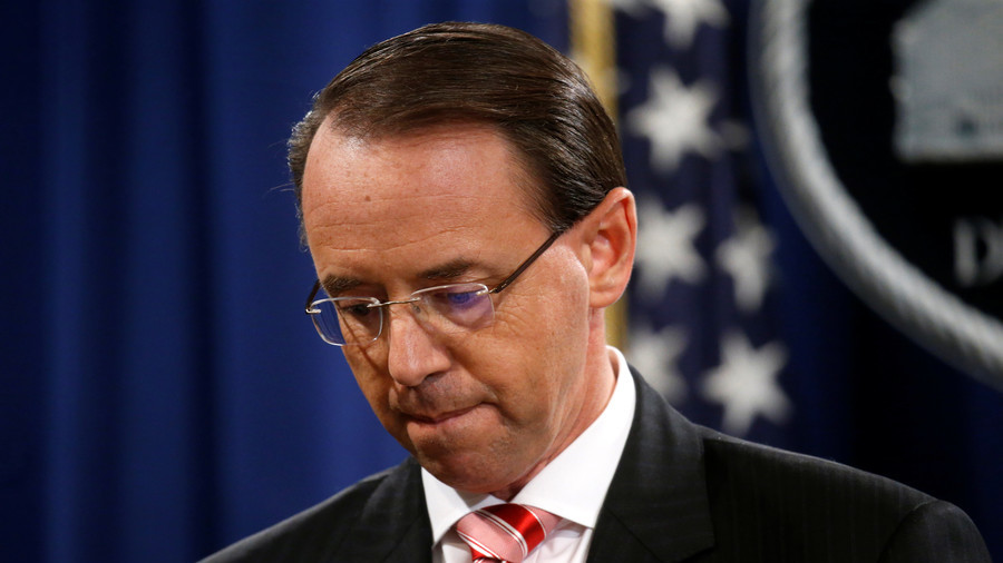 Why is Rosenstein in jail on Trump's meme? He 'shouldn't have picked special counsel'